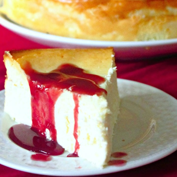 Perfect Ricotta Cheesecake