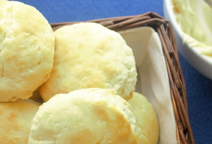 Tall, fluffy, flaky buttermilk biscuits with crisp edges and soft, tender insides are just a few minutes away. Quick and easy, you can make perfect biscuits every time.