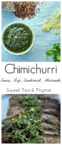 Chimichurri Sauce - Sweet Tea & Thyme
