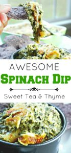 Spinach Dip - Sweet Tea & Thyme