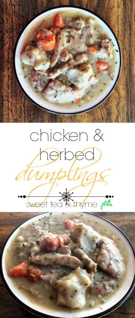 Fluffy dumplings make this chicken soup turn into a rich and decadent stew that will knock out any cold and warm even the coldest soul.