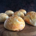 Soft, rich, buttery brioche buns that are perfect for sandwiches and burgers, made in 45 minutes, start to finish.
