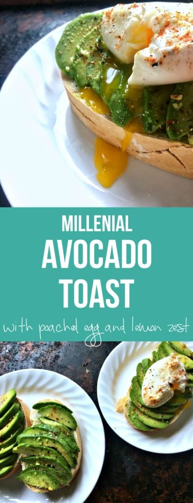 This avocado toast with poached egg recipe is perfect for any weekend brunch or weekday breakfast with lemon zest, smoked paprika, and perfectly poached eggs. One of my favorite dishes in the morning.