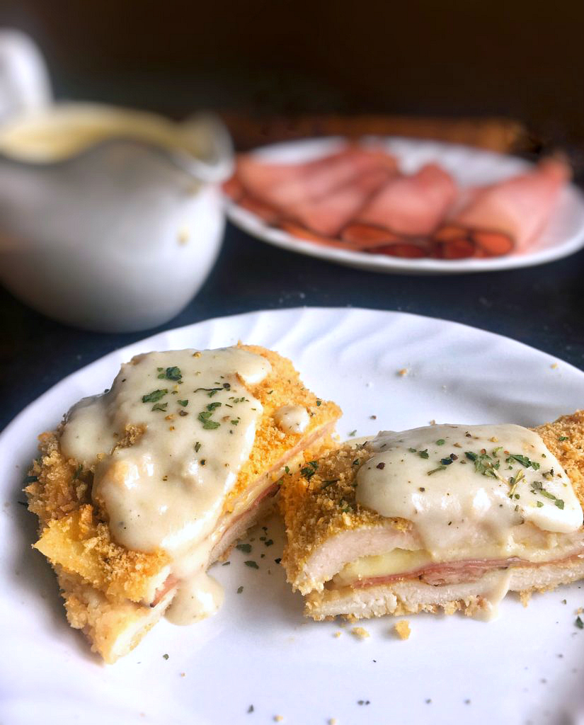 Easy Chicken Breast Recipes Fried: Weeknight Chicken Cordon Bleu