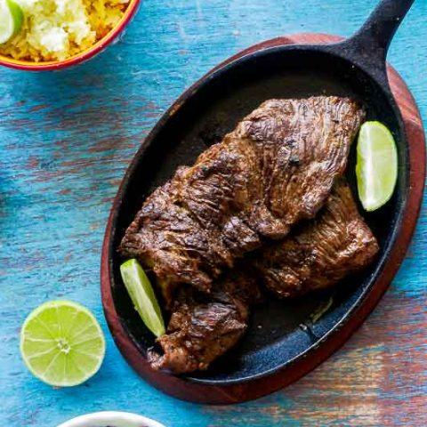 Authentic Carne Asada + Marinade Recipe