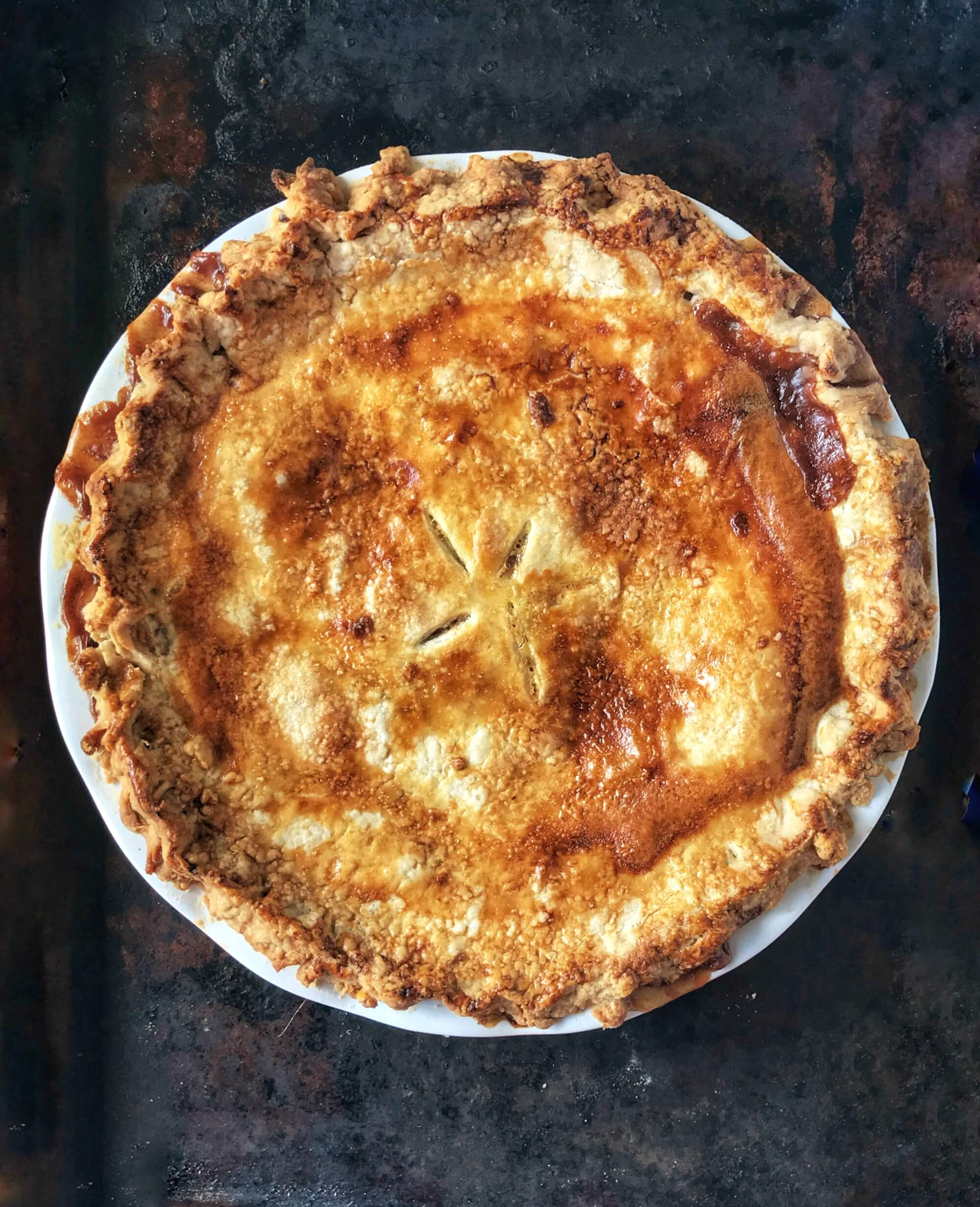 Classic Apple Pie From Scratch