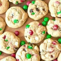 M&M's Christmas Cookies