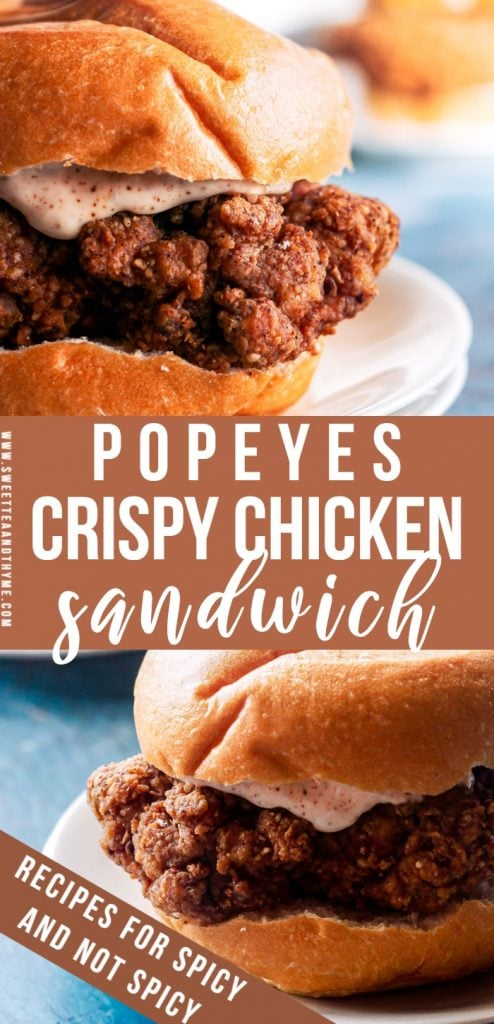 These crispy chicken sandwiches will satisfy any fast food craving (looking at you Chick-fil-A and Popeyes'!). The chicken is juicy, flavorful, and the breading is extra crisp and crunchy! Paired with some homemade crispy fries? Just forget about the fast-food joint, you won't need it.