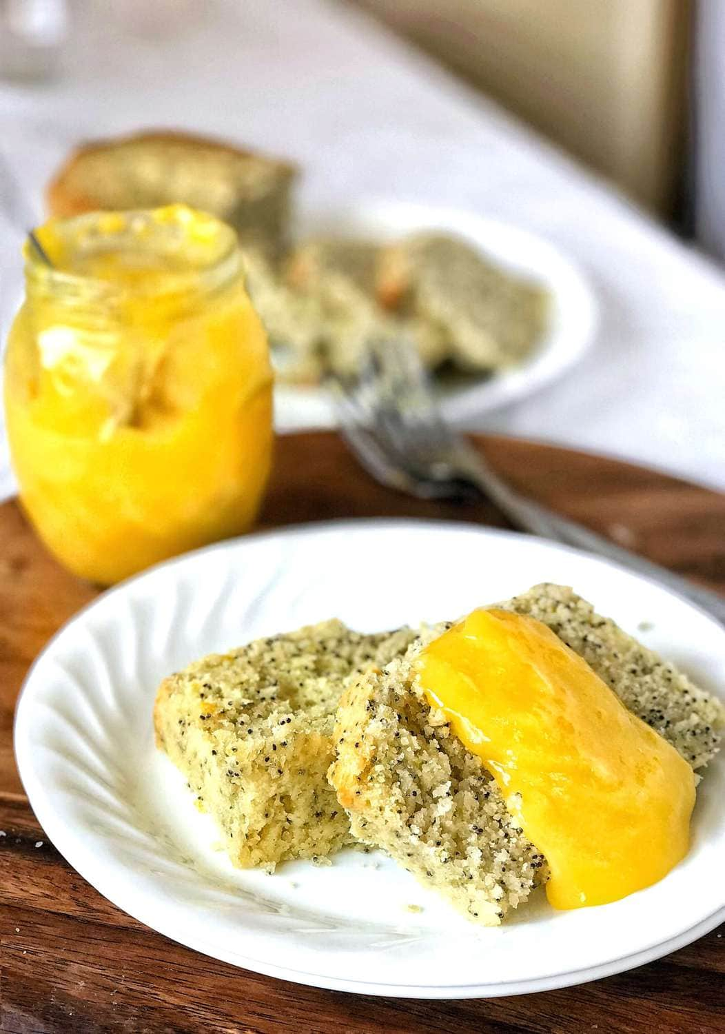 Lemon curd is easy to make, quick to come together, with only a few simple pantry staples! It's rich, buttery, and so versatile. Put it on and in everything you bake!