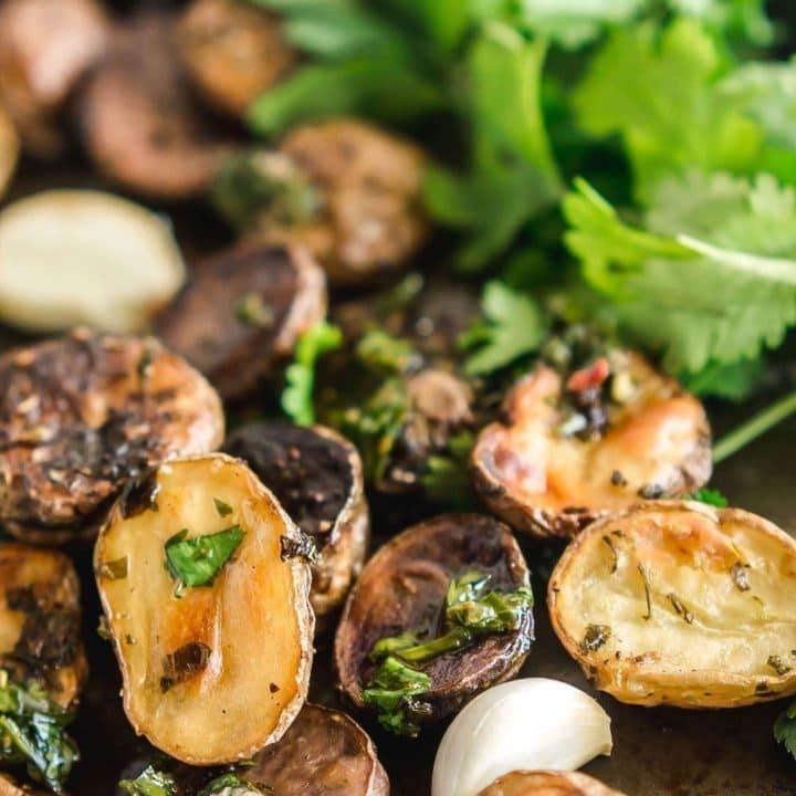 Chimichurri Potatoes