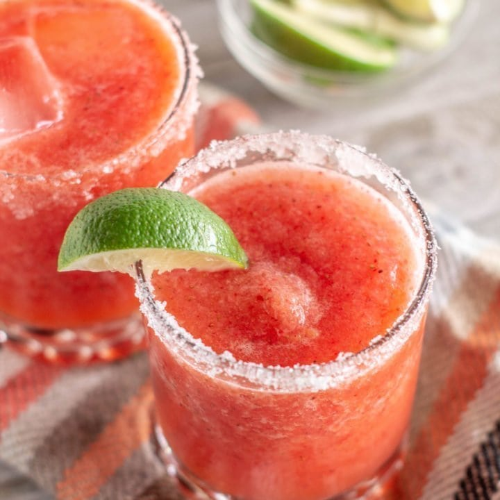 Not Your Average Strawberry Margarita - The Miami Sugar Baby Margarita