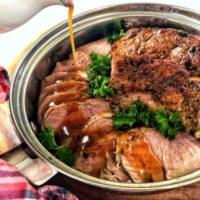 Maple Glazed Pork Tenderloin