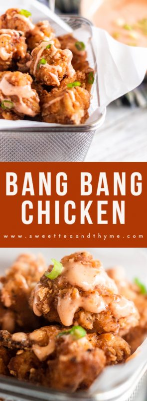 Bang Bang Sauce is sweet, spicy, creamy, and a perfect sauce for seafood, meat, and vegetables. It's such a delicious and easy sauce to drizzle and dip for all kinds of dishes. This Bang Bang Shrimp Sauce may be known for the Bonefish Grill namesake appetizer, but this homemade version is even better!