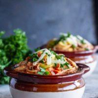 Creamy Chicken Tomato Tortellini Soup (Weeknight One Pot Recipe!)