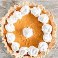 Sweet Potato Chiffon Pie