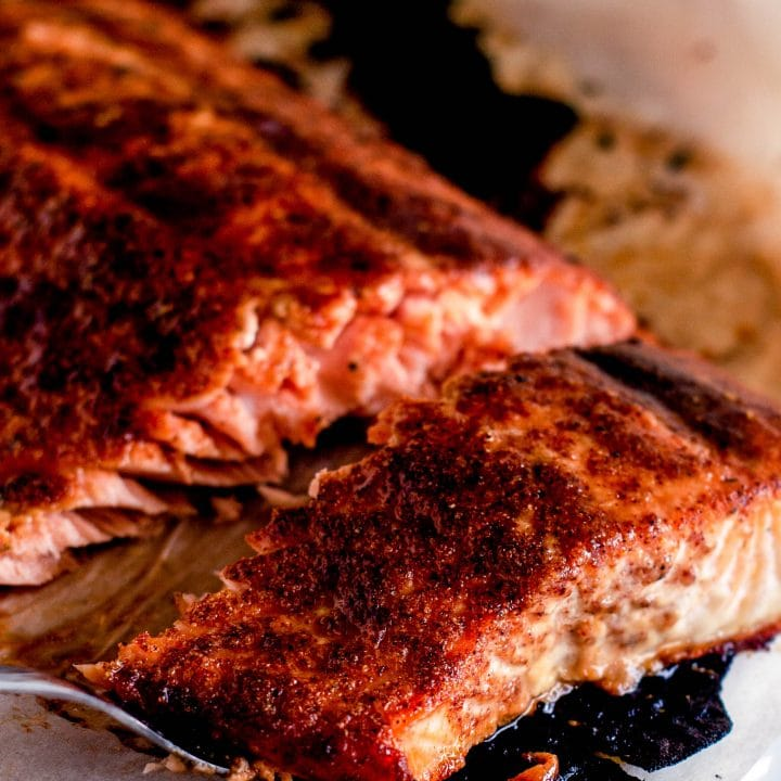 Honey Chipotle Salmon