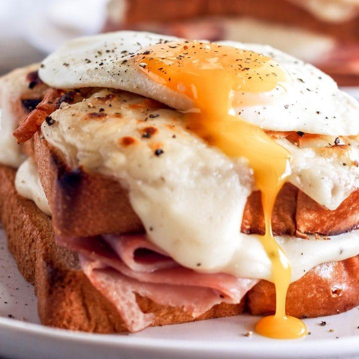 Croque Madame Sandwiches