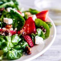Strawberry Spinach Salad (Melting Pot Copycat)