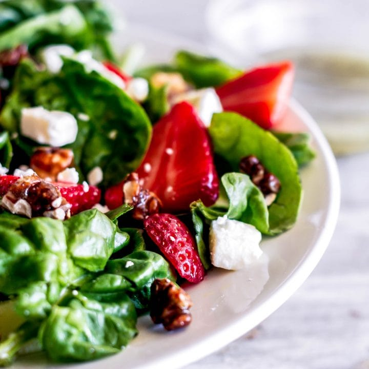 Strawberry Spinach Salad (Melting Pot Copycat)