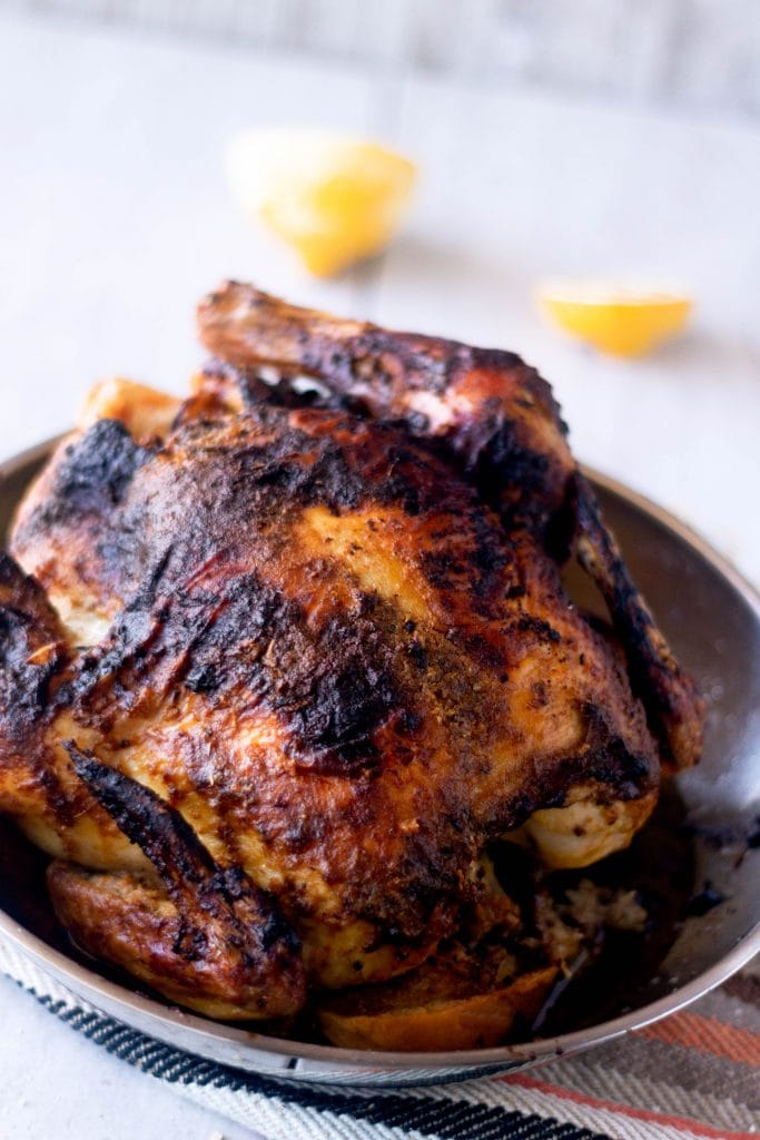 Million dollar chicken tastes like a million bucks, seasoned with fresh herbs, and brushed with an amazing creme fraiche glaze full of lemon zest, garlic, and a kick of spice. The thick slices of bread soak up all those delicious flavors for something the family will definitely fight over, it's so good!
