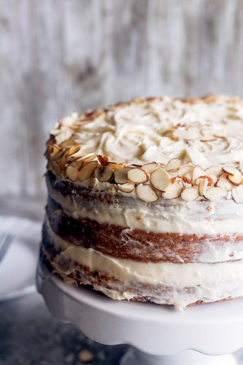 Naked Carrot Cake - Crazy for Crust