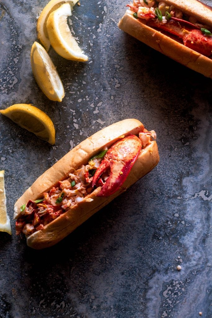 Warm Butter Lobster Rolls (Connecticut Style) | Sweet Tea & Thyme