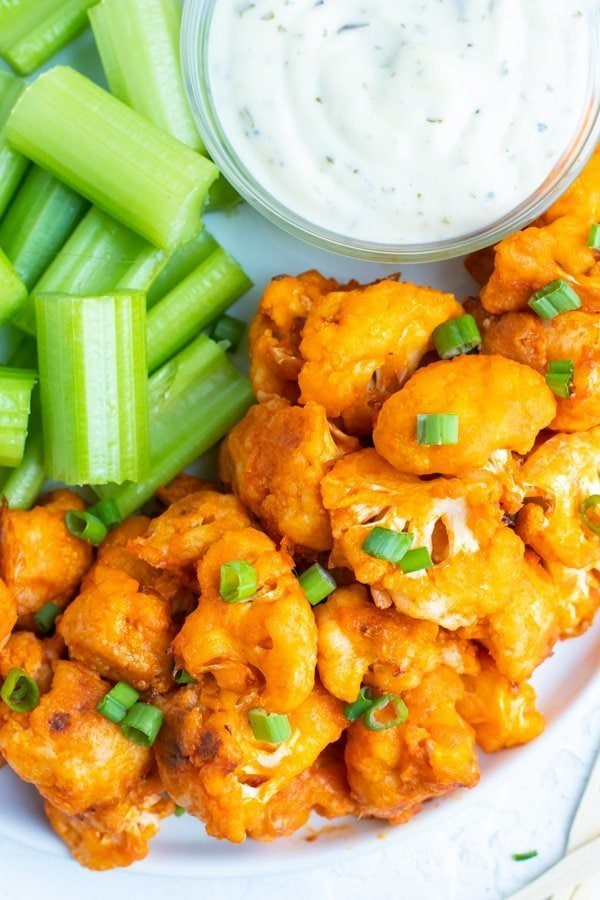 Easy Buffalo Cauliflower Bites Recipe