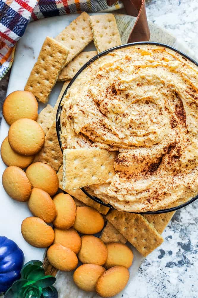 Pumpkin Cheesecake Dip