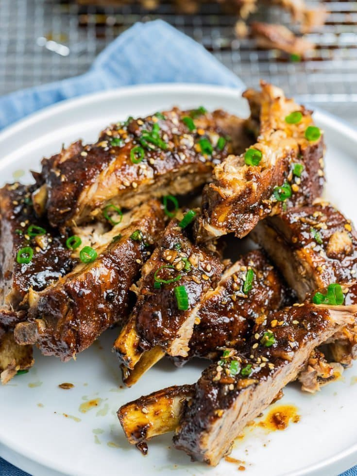 Sticky Instant Pot Asian Ribs Recipe