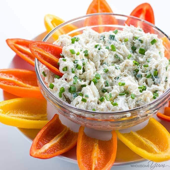 Easy Cold Crab Dip Recipe with Cream Cheese