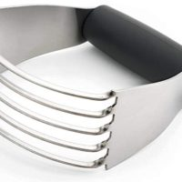 Spring Chef Dough Blender, Pastry Cutter with Heavy Duty Stainless Steel Blades