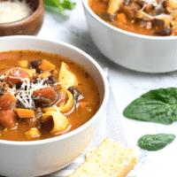 Instant-Pot Minestrone Soup