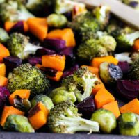 One-Pan Roasted Fall Vegetables