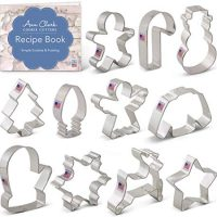 11-Piece Christmas Cookie Cutter Set