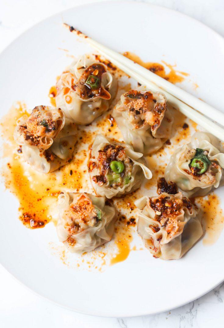Shrimp and Mushroom Shumai