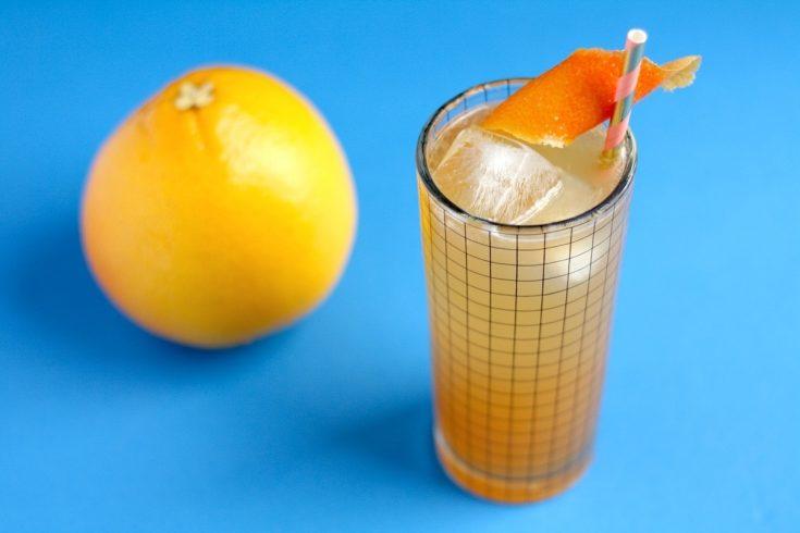 Earl Greyhound Fizz Cocktail Recipe