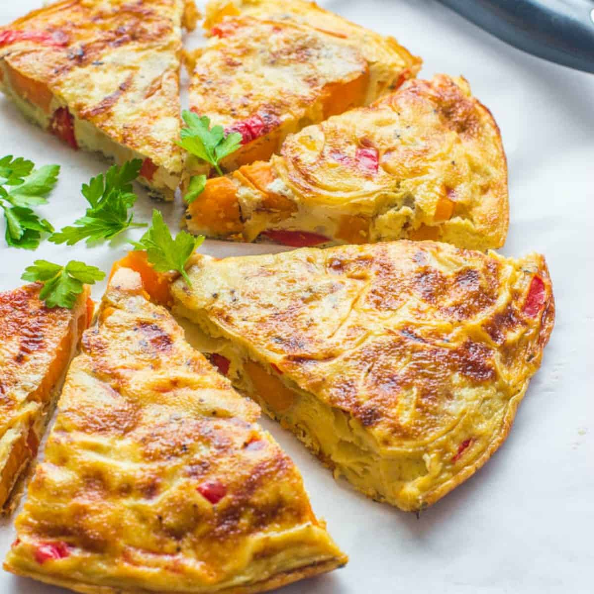 Sweet Potato Omelette (Gluten Free + Paleo)